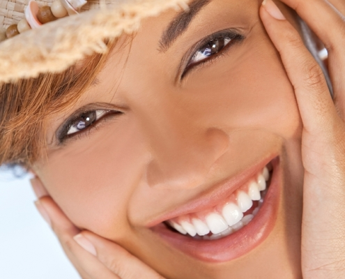 Smiling oral health month
